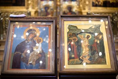 В Троицкой обители молитвенно почтили икону Божией Матери «Скоропослушница»