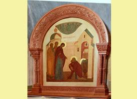 Проповедь благочинного Свято-Троицкой Сергиевой Лавры архимандрита Павла после акафиста Божией Матери в седмицу 27-ю  по Пятидесятнице