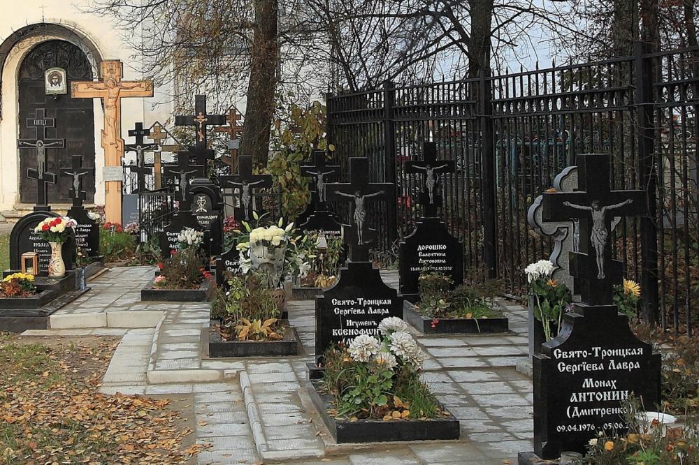 Сергиев посад кладбище памятники кресты из гранита фото 2018