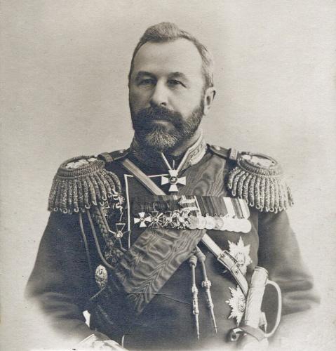 Посещение Лавры главнокомандующим Маньчжурской армией генерал-адъютантом А.Н. Куропаткиным