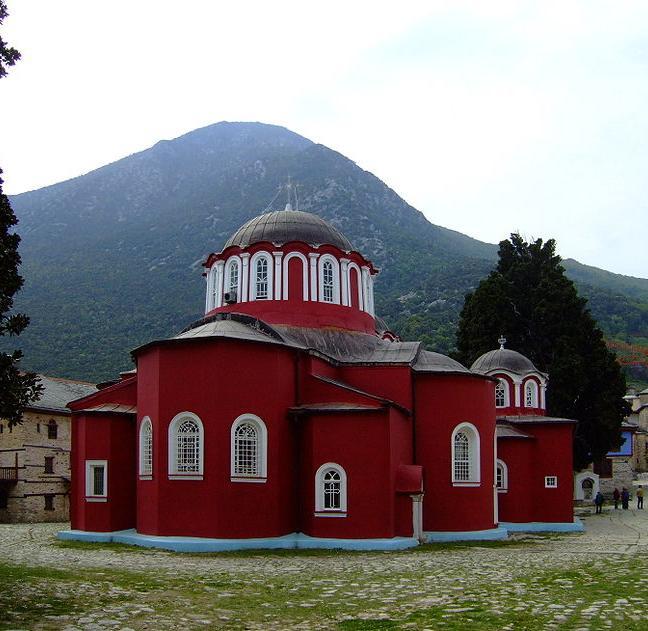 Иеродиак. Николай. Паломничество на Святую Гору Афон (июль-август 1997 года)