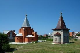Черниговское подворье Троице-Сергиевой лавры в Геленджике