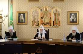 Святейший Патриарх Кирилл: «Сегодня нет более важного вопроса, чем мир на Украинской земле»