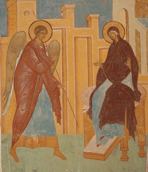 Дионисий. Благовещение. Фреска 1502 г..jpg