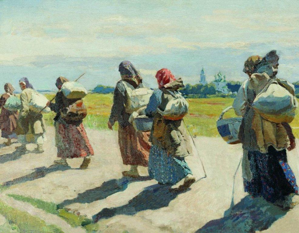 К преподобному. 1910.jpg