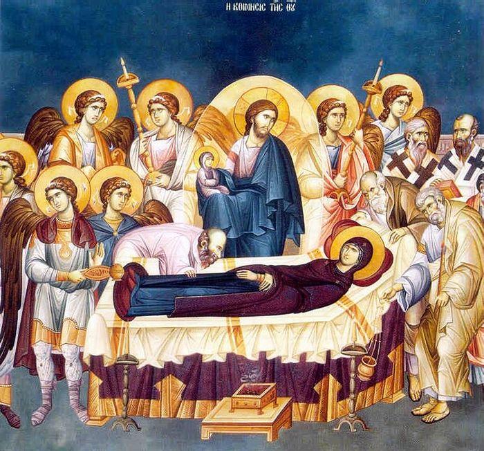 Вознесение открыло Ее славу. Слово на Успение Пресвятой Богородицы