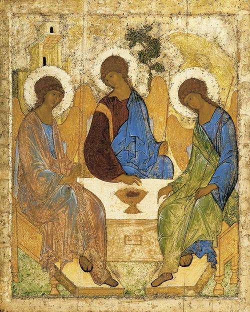 Икона Святой Троицы. Преподобный Андрей Рублев.jpg