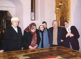 40 дней со дня преставления Лидии Степановны Говядиной, старейшей сотрудницы Троице-Сергиевой Лавры