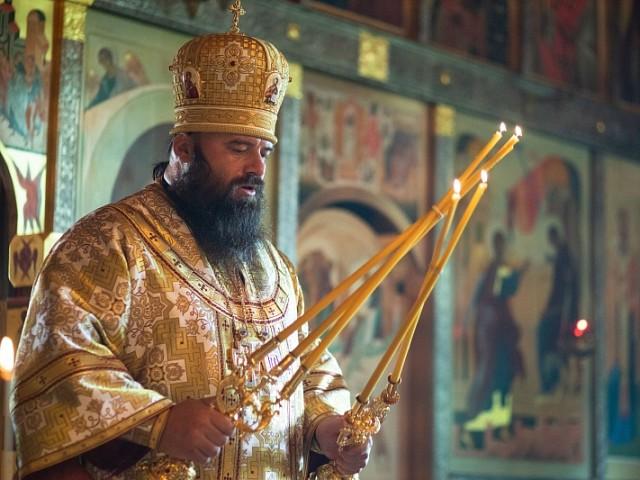 В четвертую неделю по Пятидесятнице братия Лавры почтила священномученика Евсевия Самосатского