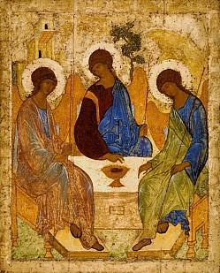 Некоторые вопросы изучения «Троицы» Андрея Рублева