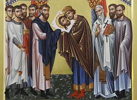 Перенесение из Едессы в Константинополь Нерукотворного Образа Господа Бога и Спаса нашего Иисуса Христа