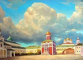 «...Церковь создана бысть каменна»: русское зодчество в эпоху преподобного Сергия Радонежского
