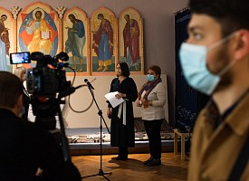 Состоялся пресс-показ выставки-конкурса «Осенний салон–2020. Храмовое искусство»