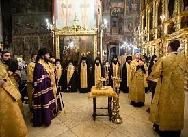 «Светильницы пресветлии истины Христовы миру»: в Лавре славят святых отцов VII Вселенского Собора