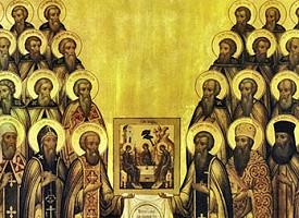 Троицкий патерик. Преподобный Василий Сухой, ученик преподобного Сергия