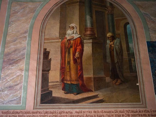 В Троицкой обители совершили воскресные богослужения и почтили память великомученика Феодора Стратилата