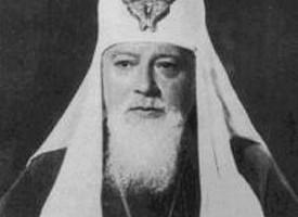 Монашеский постриг в Гефсиманском скиту будущего патриарха Алексия I