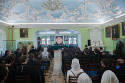Завершился первый день Сергиевских научно-богословских чтений