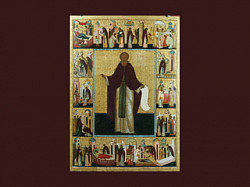«Игумен земли русской» в церковной литературе и народном творчестве