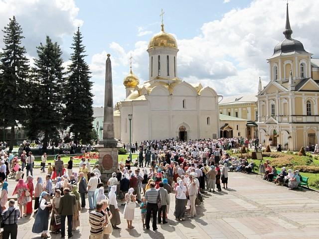 Храмы Свято-Троицкой Сергиевой Лавры. Троицкий cобор