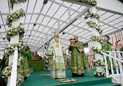 Проповедь Святейшего Патриарха Кирилла в день памяти прп. Сергия в Троице-Сергиевой лавре