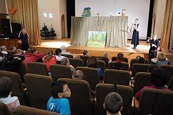Воспитанники Покровского монастыря посетили Сергиево-Посадский детский дом слепоглухих