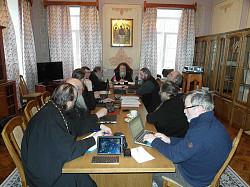 В Троице-Сергиевой Лавре состоялось очередное пленарное заседание Синодальной богослужебной комиссии