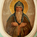 Преподобный Михей Радонежский,  роспись Старой братской трапезной Троице-Сергиевой Лавры