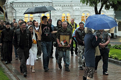 Более 50 байкеров-мотопаломников прибыли в Троице-Сергиеву Лавру