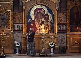 Милость Божией Матери к почитательнице Ее святого образа