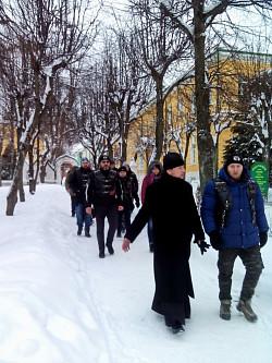 Обитель преподобного Сергия посетили паломники из Черногории