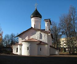 В Пскове возрождена «Церковь Сергия с Залужья» XVI века