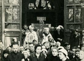 Открытие Лавры преподобного Сергия
