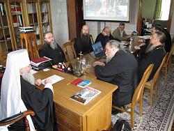 В Троице-Сериевой Лавре состоялось четвертое пленарное заседание Синодальной богослужебной комиссии