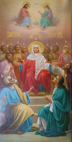 В день Святого Духа архиепископ Феогност возглавил престольный праздник в Троице-Сергиевой Лавре