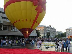 В Сергиевом Посаде состоялся фестиваль аэростатов «Небо Святого Сергия»
