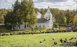 В Сергиево-Посадском районе прошел крестный  ход «Тропой преподобного Сергия»