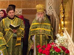 В Троице-Сергиевой Лавре молитвенно почтили память митрополита Платона (Левшина) в день его тезоименитства