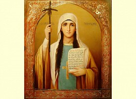Память святой равноапостольной Нины, просветительницы Грузии