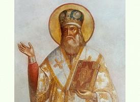 День памяти святителя Серапиона, архиепископа Новгородского, игумена Троице-Сергиева монастыря