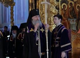 Четверток Великого канона – «стояние Марии Египетской» – в Свято-Троицкой Сергиевой Лавре