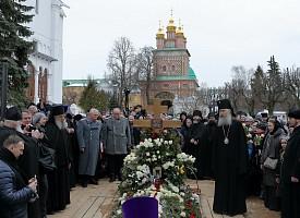 В Троице-Сергиевой Лавре молитвенно почтили память архимандрита Кирилла (Павлова) на 40-й день по его преставлении