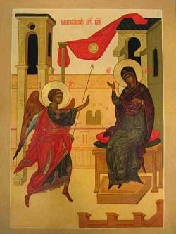Проповедь насельника Троице-Сергиевой Лавры игум. Корнилия (Мороза) в праздник Благовещения Пресвятой Богородицы