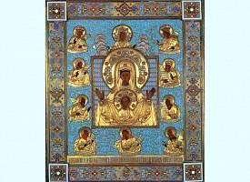 Празднование иконе Божией Матери «Знамение» Курской-Коренной
