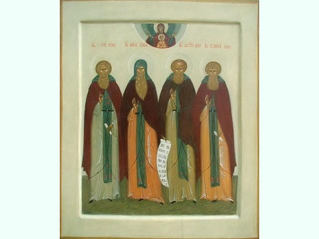 Память преподобных Кассиана (1537) и Лаврентия (1548) Комельских