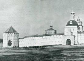 Превращение Троицкого монастыря в мощную подмосковную крепость