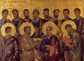 Празднование Собору славных и всехвальных 12-ти апостолов