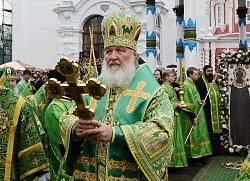 Патриарх Кирилл возглавит в Троице-Сергиевой Лавре празднование обретения честных мощей преподобного Сергия Радонежского