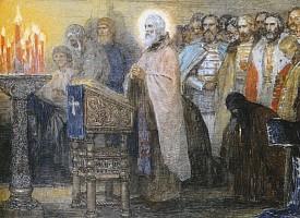 Житие преподобного Сергия Радонежского в стихах