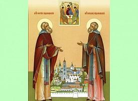 Память преподобных Сергия и Никона Радонежских – третий день престольного праздника Троице-Сергиевой Лавры